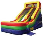 Ohio inflatable slide rental party Summer 2016