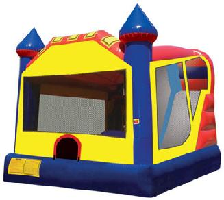 Cleveland Inflatable Jumpy Castle Slide 2016