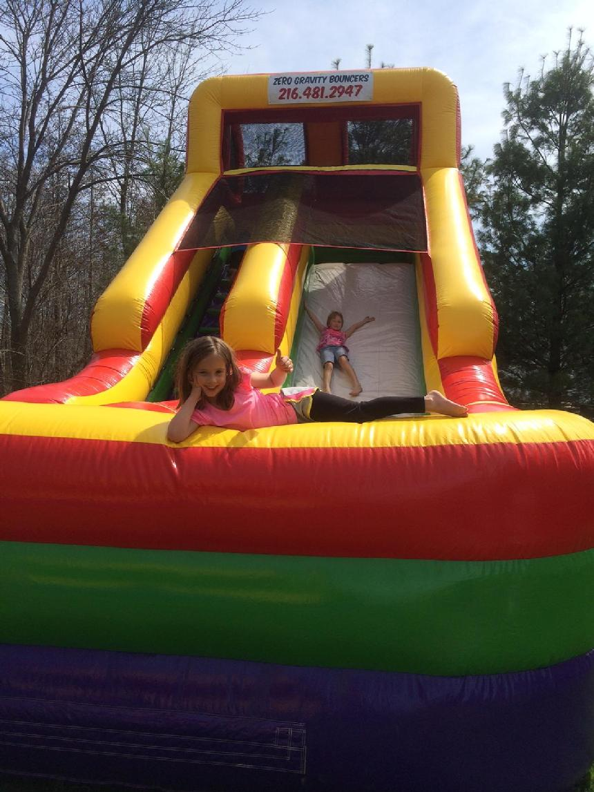 Inflatable Slide bounce house rental 2016